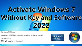 2020! Windows 7 Activation Without Software and Key for Free using Command Line