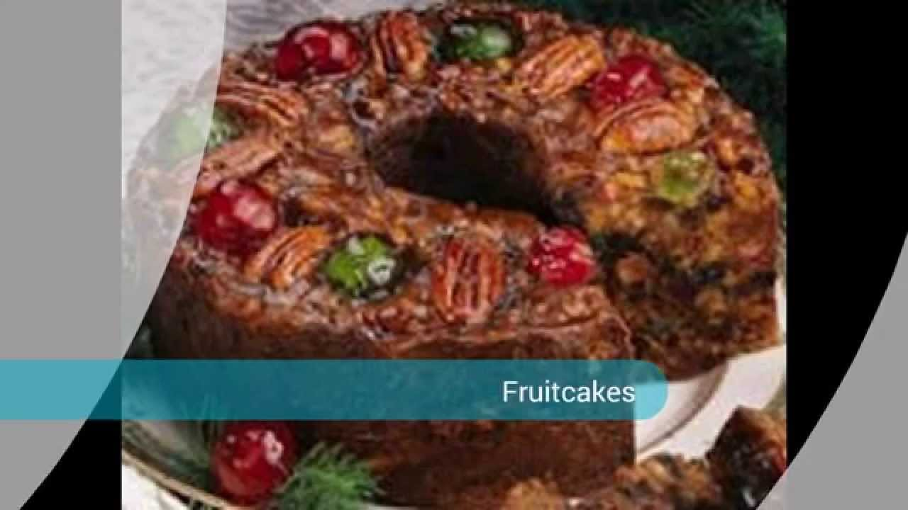 Old Fashioned Dark Fruit Cake