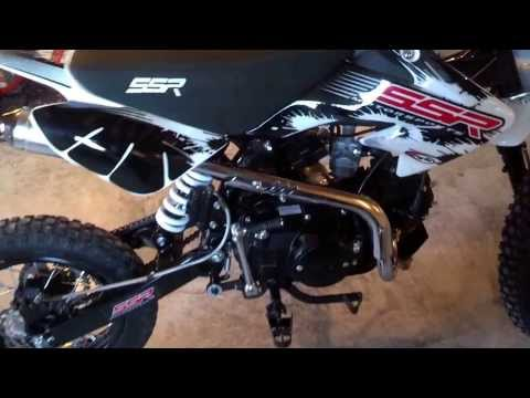 SSR 125 Pit Bike from Powersports Distro