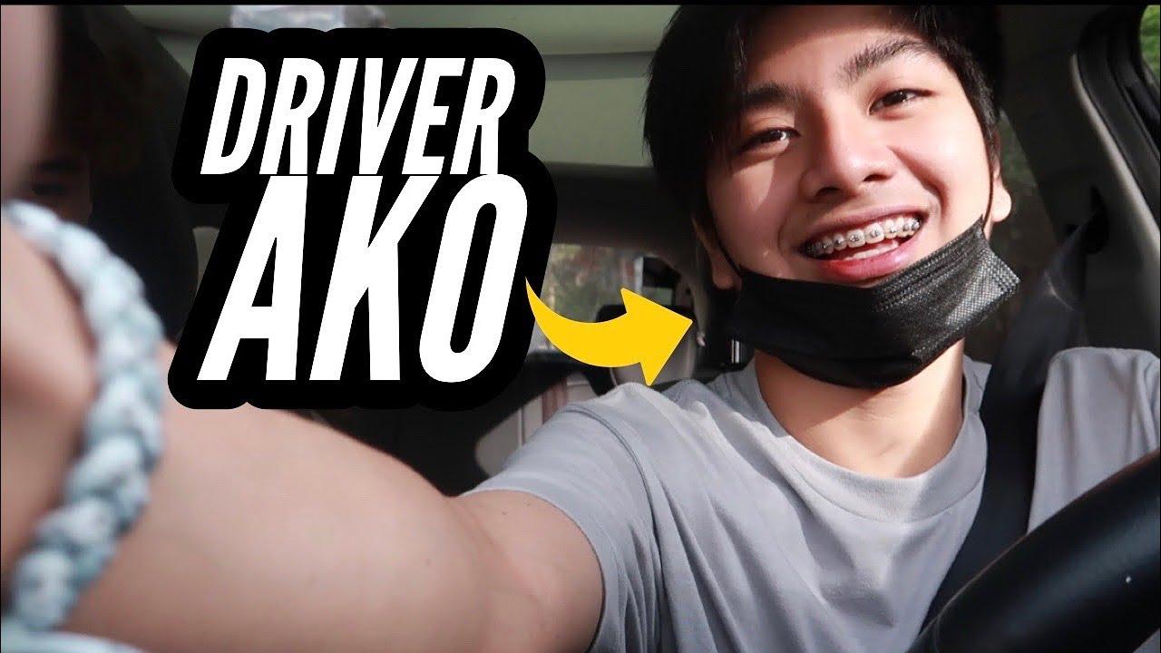 NAG DRIVE AKO!!! (Kinabahan mga sakay ko)