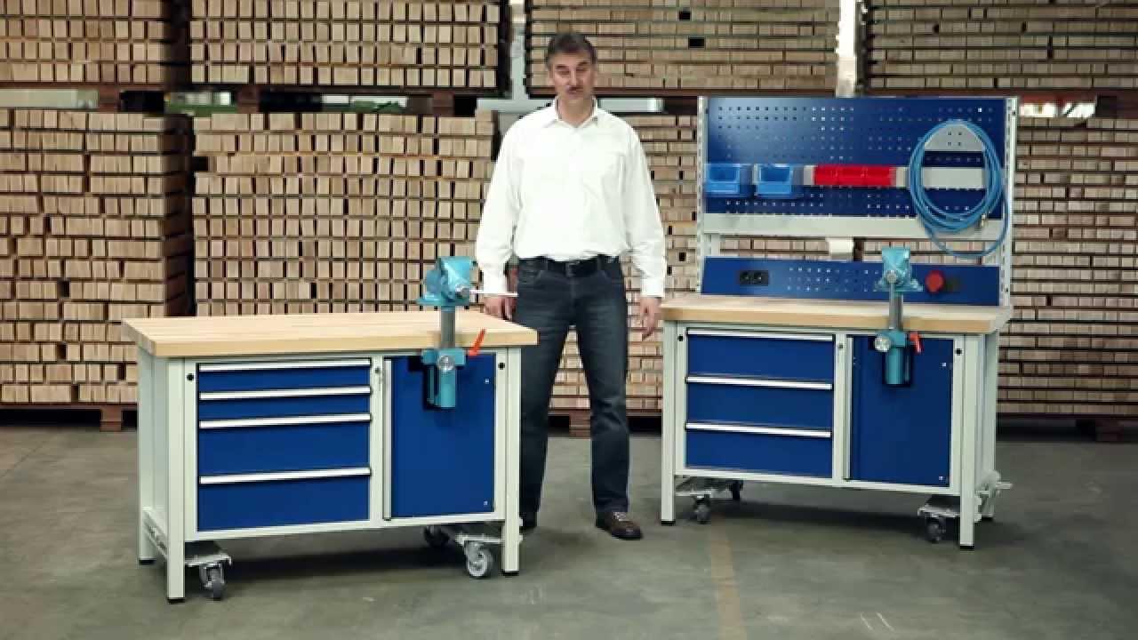 ANKE Werkbänke - Montagewerkbänke - YouTube