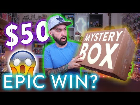 Epic $50 Funko Pop Mystery Box Unboxing - WOW?! 😱