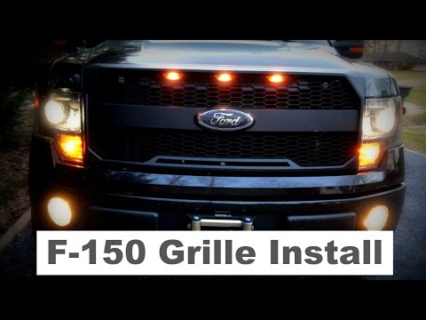 ford f-150 grille replacement - youtube