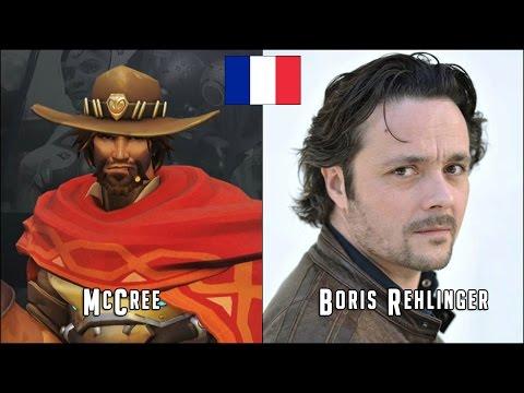 Overwatch Les Héros et les Acteurs de Doublage Français