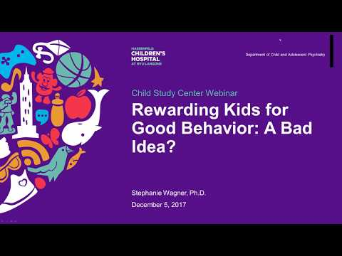 Rewarding Kids for Good Behavior: A Bad Idea?