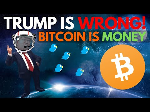 BITCOIN Is MONEY! Donald Trump Got It Wrong, Twitter EXPLODES - Crypto News