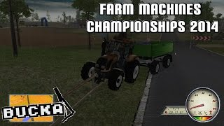 Racing and Ploughing - Farm Machines Championship 2014 Gameplay | PC