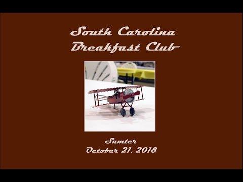 South Carolina Breakfast Club - Sumter - October 21, 2018