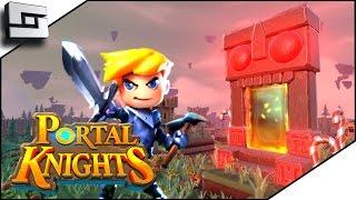 Portal Knights - BEAUTIFUL SANDBOX ADVENTURE! Portal Knights Gameplay Ep 1