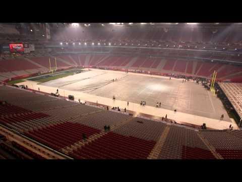 Super Bowl XLII Time Lapse