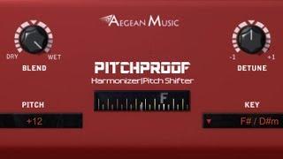 المنطق برو X - خلق التجانس الصوتية مع Pitchproof   مجانا الانسجام