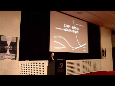 Viviana Muscettola (ZAHA HADID ARCHITECTS) - Insights in the S.ARCH 2016 Lecture