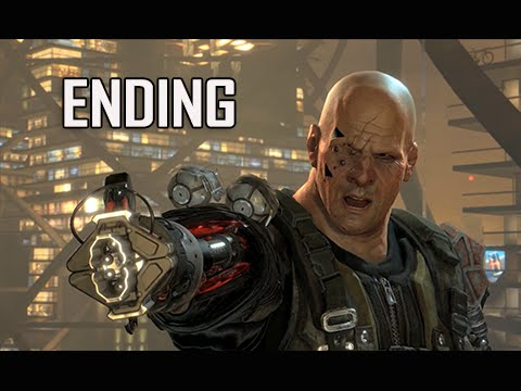 Deus Ex Mankind Divided Walkthrough Part 26 - ENDING + Final Boss (PC Ultra Let's Play)