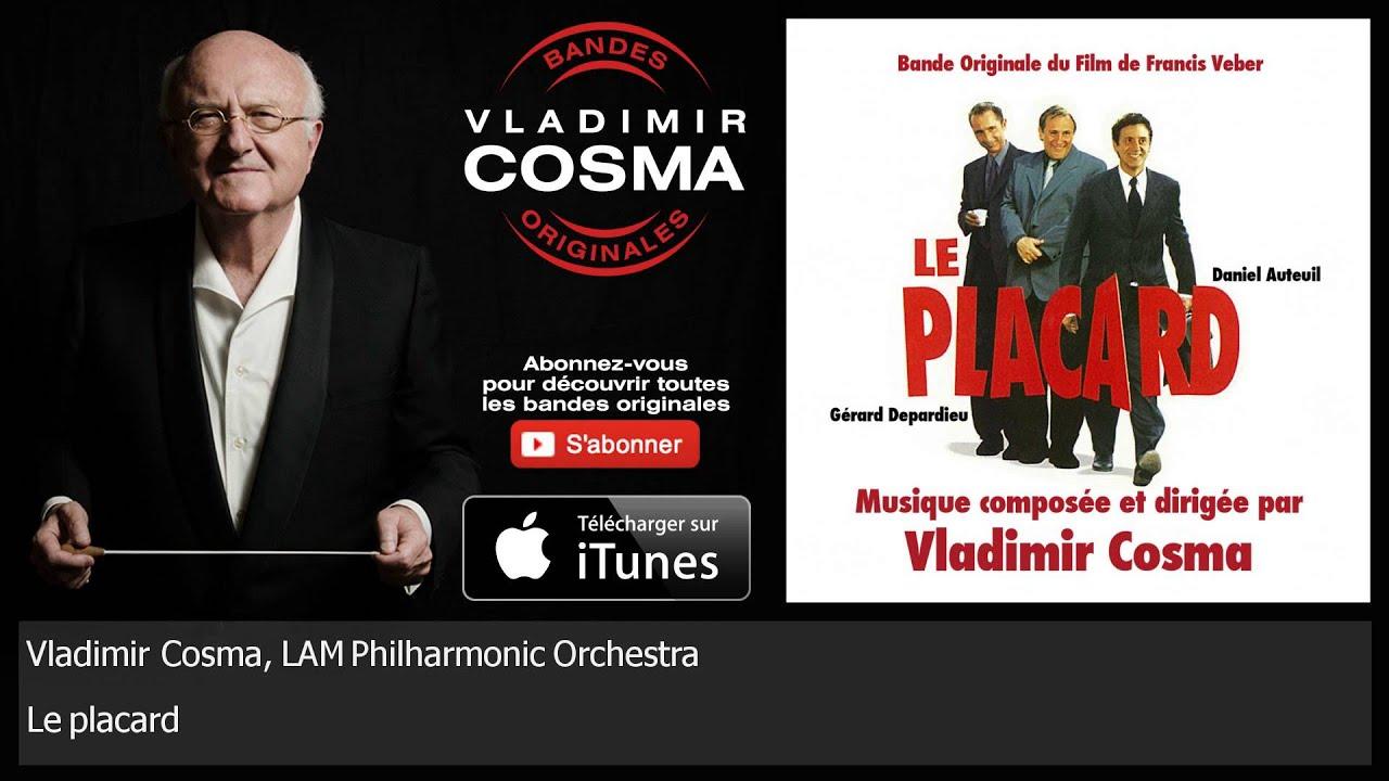 Vladimir Cosma, LAM Philharmonic Orchestra - Le Placard - BO du Film Le Placard