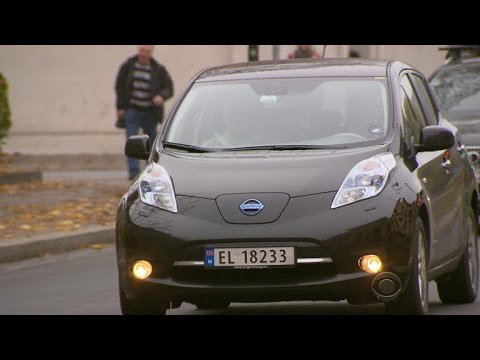 How electric cars are taking over Norway's roads