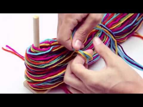Craft-Tastic Pom Pom Kit SKU#730127- HearthSong