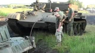 Darłowo Zlot Pojazdów Militarnych 2011 Off road ratowanie czołgu