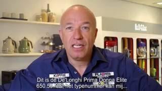 DeLonghi PrimaDonna Elite ECAM 650.55.MS - volautomaat: Review en unboxing koffiemachine