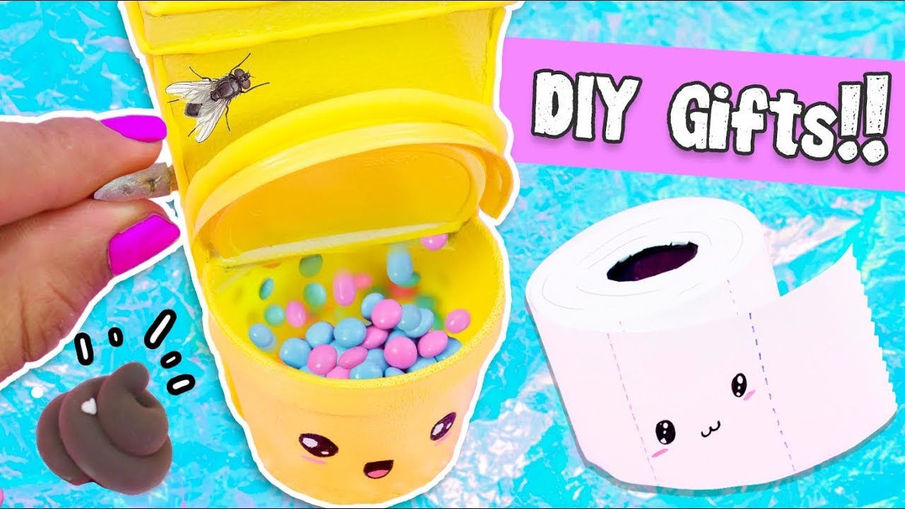 Weird DIY Gift Ideas You Need To Try!! 💩 Prank your Best Friends