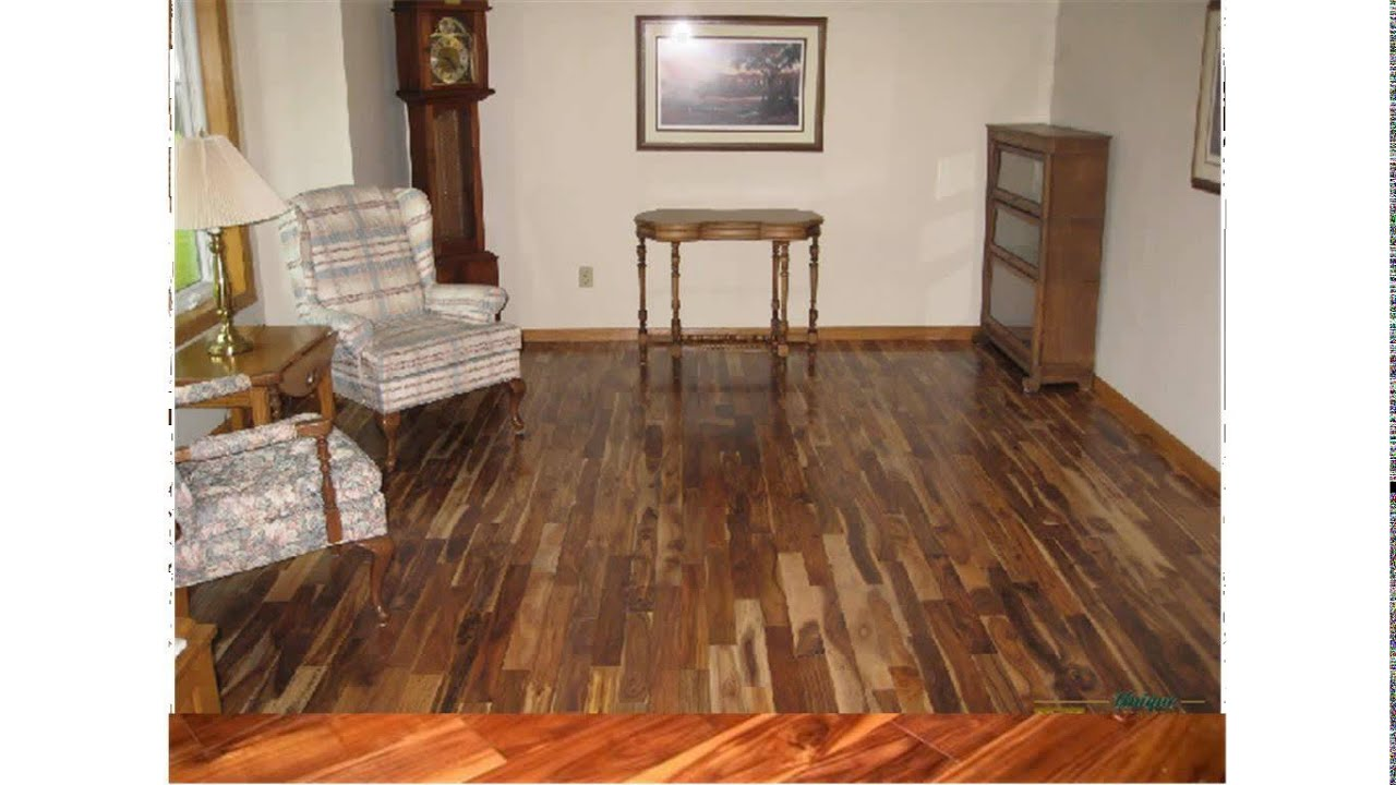 asian walnut hardwood flooring  YouTube