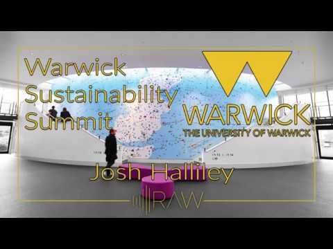 Warwick Sustainability Summit - Josh Halliley