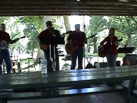 Nathan Mark N Grass Fire Performs at Spring Lake Macomb, Illinois Country Bluegrass Jamboree
