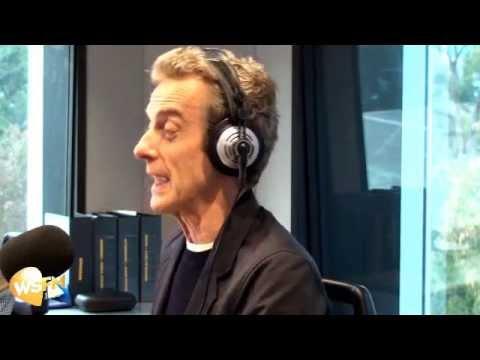 Jonesy & Amanda Interview Peter Capaldi