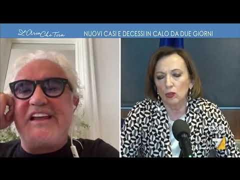 Coronavirus, Flavio Briatore contro Sandra Zampa: 'Non prendiamoci in giro, Conte disse dalla ...