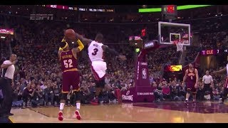 Dwyane Wade Phenomenal Shot Blocker on the NBA
