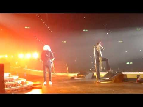 Queen - Somebody to love - Adam Lambert - Hallenstadion live 19. Februar 2015 Zürich Switzerland