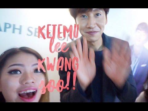 SHILLA BEAUTY LOFT ANNIVERSARY & KETEMU LEE KWANG SOO! || Vlog #5