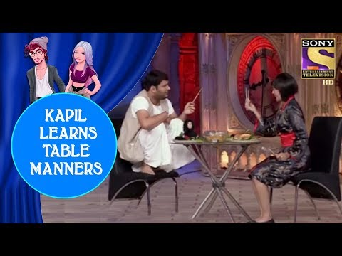 Shweta Teaches Table Manners To Kapil - Jodi Kamaal Ki