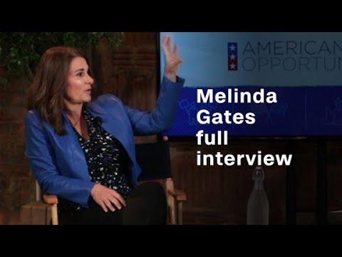 Melinda Gates and her hope for women & girls