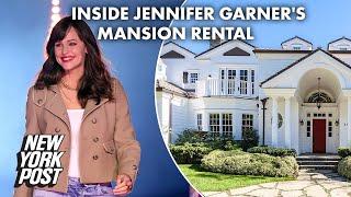 Inside Jennifer Garner's $14M mansion rental ahead of move near Ben Affleck | New York Post