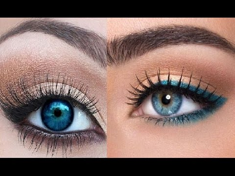 Best eyeshadow palette for light blue eyes