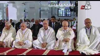 بن صالح وتبُون وبُوحجة يُؤدُونَ صلاة عيد الفطر المُبارك بالمسجد الكبير في العاصمة