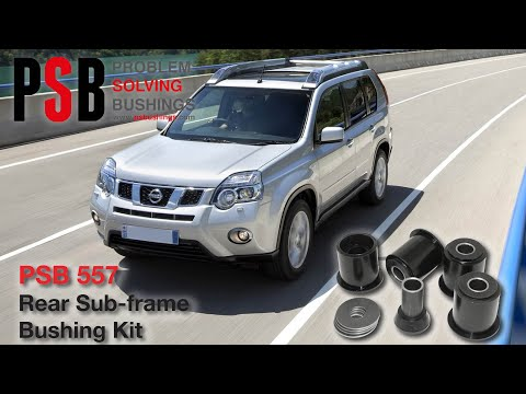 Nissan Xtrail T30 (01-06) Rear Subframe Bushing Installation - PSB 557