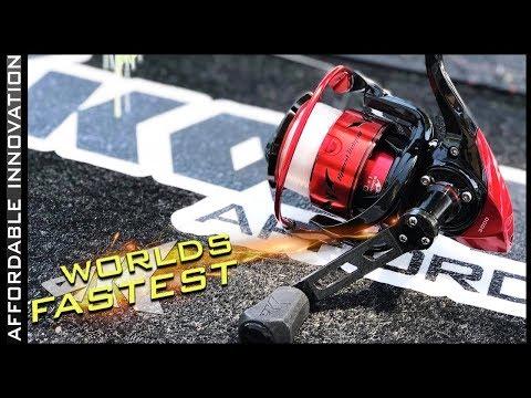Size 2000 Speed Demon Pro Spinning Fishing Reel
