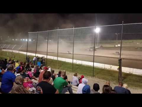 RUSH Crate Late Models from Genesee Speedway 6-10-17
