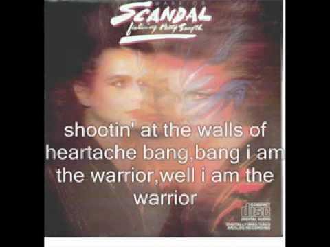 Scandal - The Warrior With Lyrics