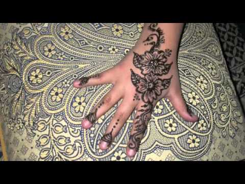 Henne mariage marocaine youtube - Decoration chambre de nuit marocain ...