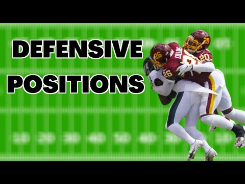 Defensive Positions In Football And What They Do