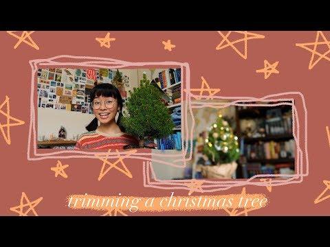 Linh Decorates A Christmas Tree 🎄