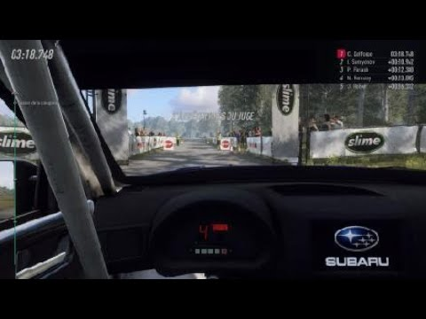 DiRT Rally 2.0 Volant Thrustmaster T300rs