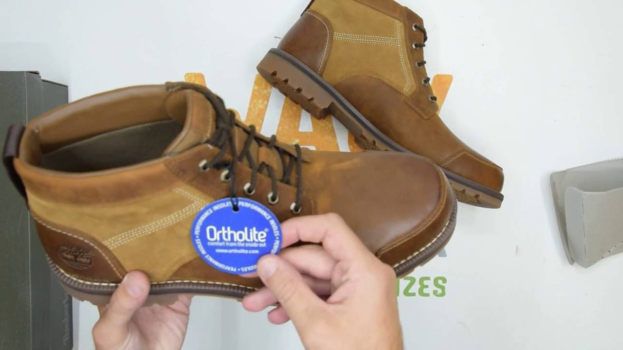 Inmigración estornudar sistemático  Timberland Larchmont Chukka - Brown - Walktall | Unboxing | Hands on -  YouTube