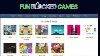 Funblocked Games 2019 Online Free Play Here