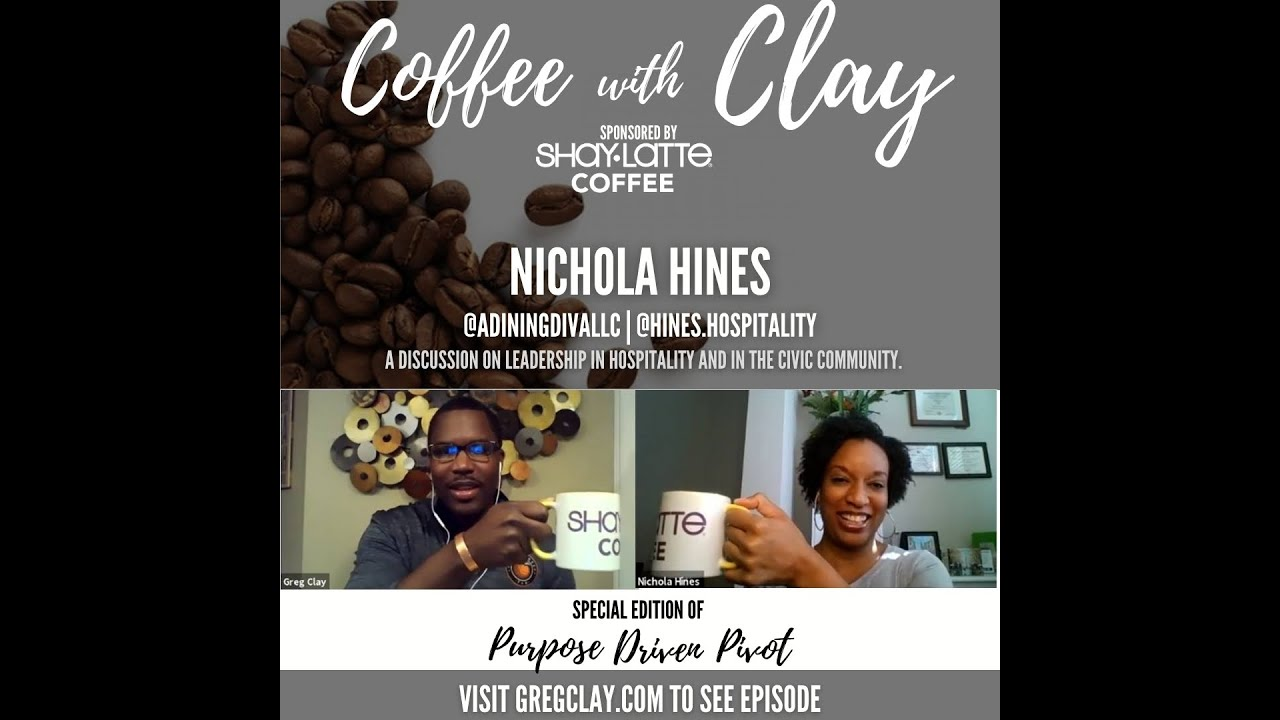 Purpose Driven Pivot (Coffee with Clay), feat. Nichola Hines