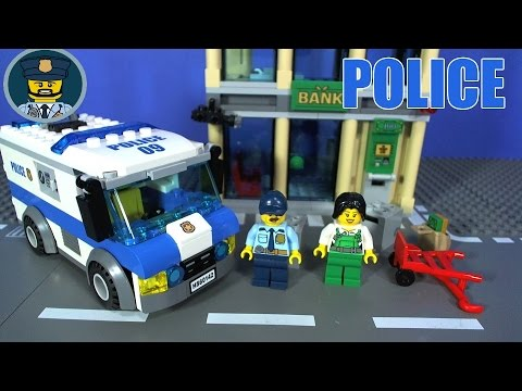 Lego City Police Money Transporter 60142 Youtube