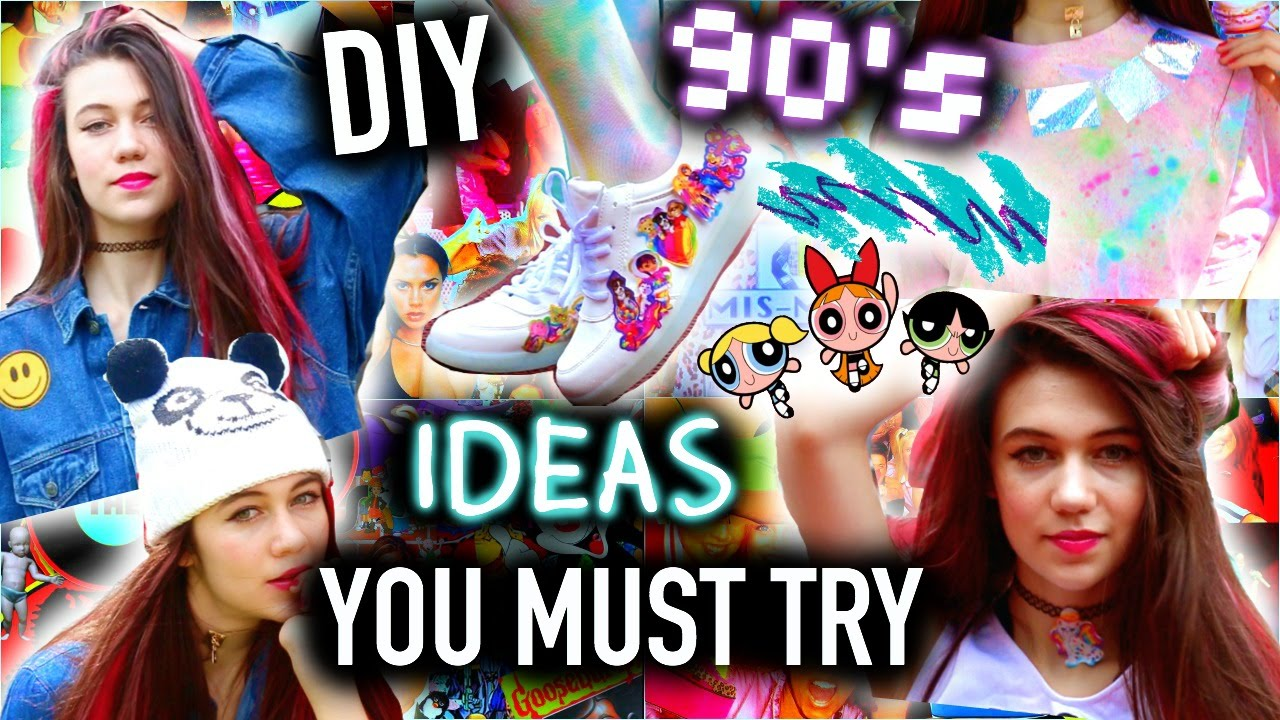 DIY Project Ideas 90s Inspired You MUST Try Easy And