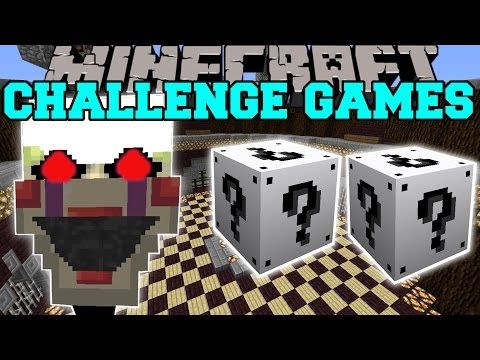 Minecraft: PHANTOM MARIONETTE CHALLENGE GAMES - Lucky Block Mod - Modded Mini-Game